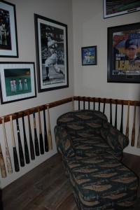Bret Boone bat display