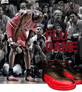 Flu Game Michael Jordan shoes
