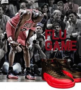 Flu Game Michael Jordan shoes