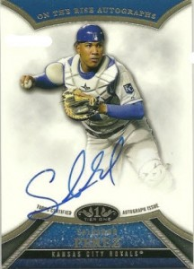 Salvador Perez 2013 Topps Tier One auto