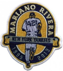 Mariano Rivera retirement jersey patch
