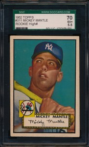 1952 Mantle Topps