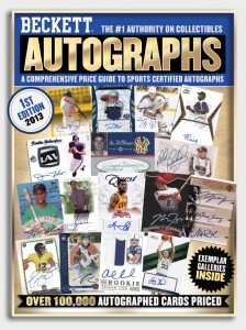 Autograph Price Guide