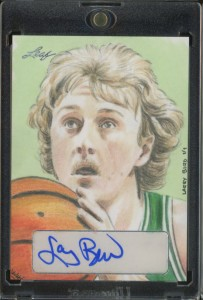 Leaf Masterworks Larry Bird 2013