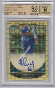 Bowman Chrome Puig Superfractor