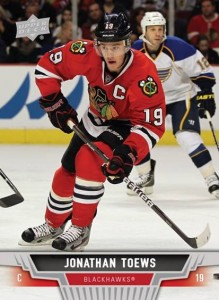 2013-14 Upper Deck Hockey Jonathan Toews