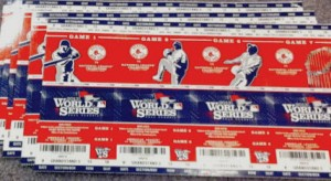 World Series tickets 2013