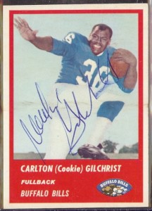 Cookie Gilchrist 1963 Fleer