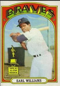 1972 Topps Earl Williams