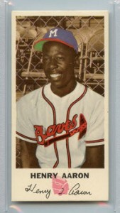 Johnston Cookies Hank Aaron 1954 rookie