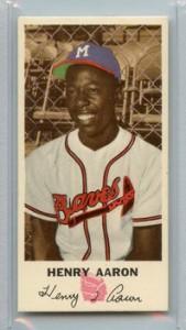 Johnston Cookies Hank Aaron 1954 rookie