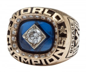Yankees 1978 World Series ring Rich Gossage