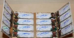 LeBron James 16 autograph card Exquisite