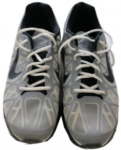 Torn ACL shoes Mariano Rivera