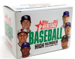 Heritage 2013 Topps Update set