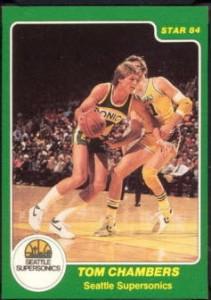 1983-84 Star Tom Chambers