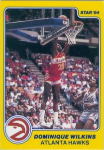 1983-84 Star Company Dominique Wilkins