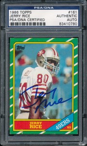 Jerry Rice Ink Auto