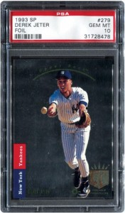 Derek Jeter Upper Deck SP 1993 PSA 10