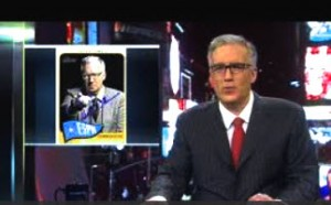 Keith Olbermann Topps Heritage