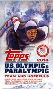 2014 Topps Olympic box
