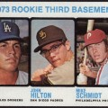 Mike Schmidt 1973 Topps card