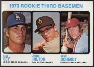Mike Schmidt 1973 Topps card