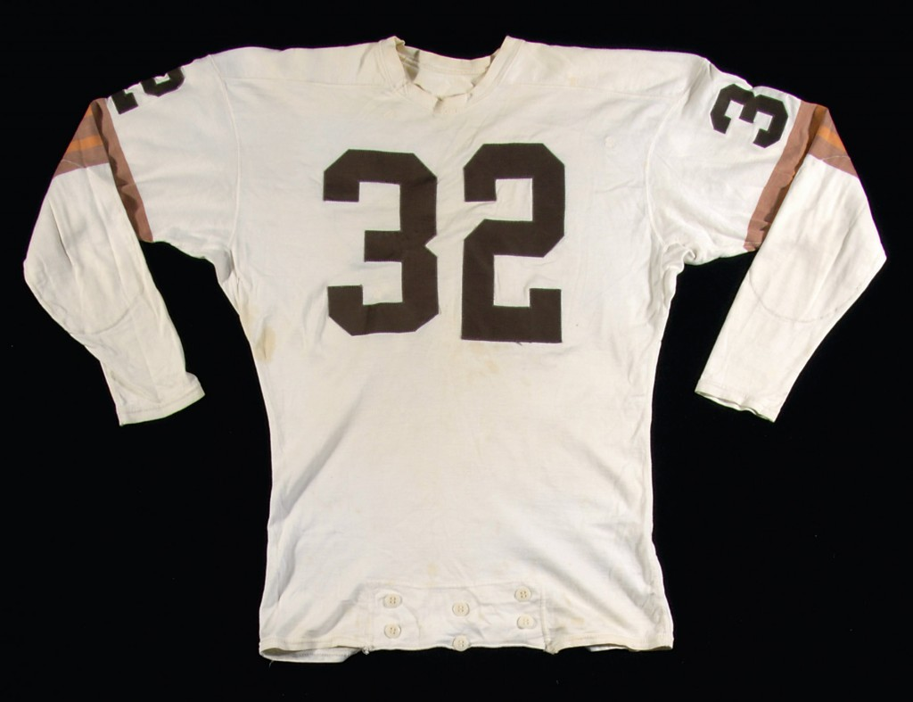 Game worn Jim Brown Cleveland Browns jersey