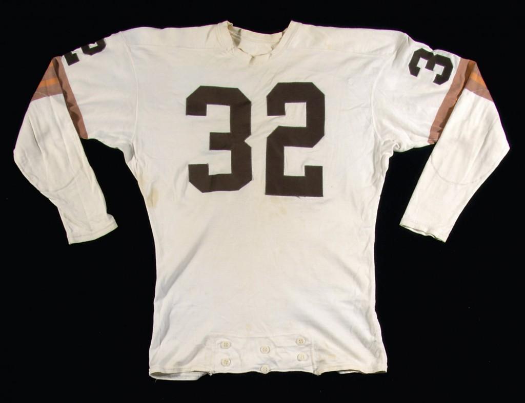 Game worn Jim Brown Cleveland Browns jersey