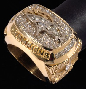 Super Bowl XXXII ring Denver Broncos