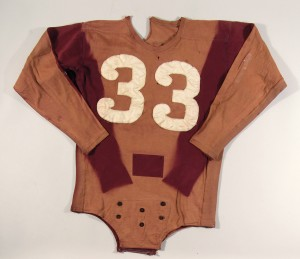 Game worn Sammy Baugh Redskins jersey