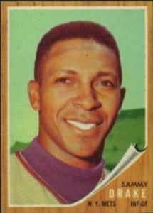 1962 Topps Green Tint Sammy Drake