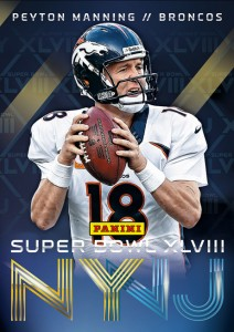 Panini Super Bowl Collection 2014 Peyton Manning