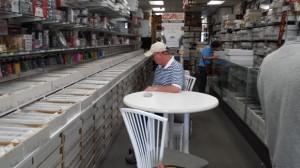 Customer tables Orlando Sportscards