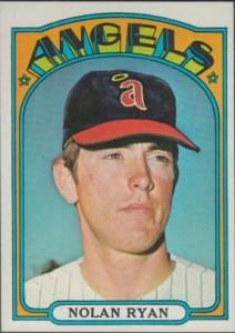 Nolan Ryan 1972 Topps Traded