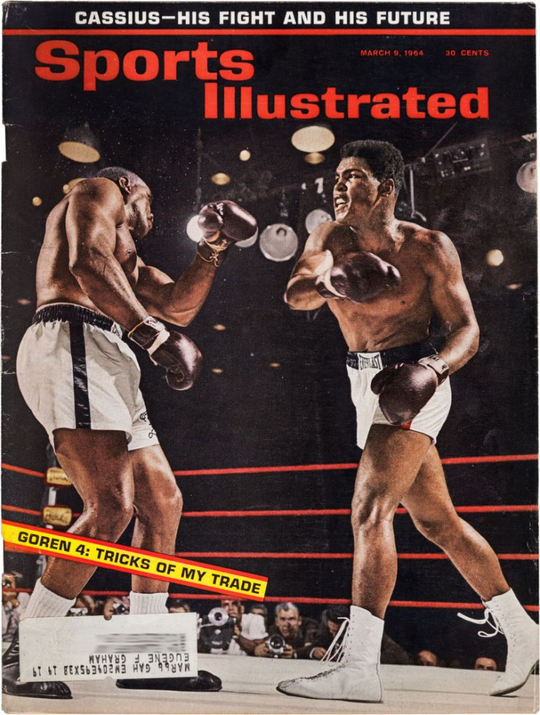 Clay vs Liston Sports Illustrated 1964