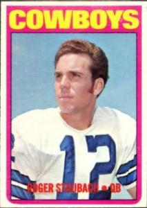 1972 Topps Roger Staubach