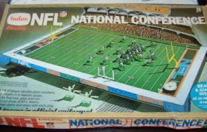 1972 Electric football game