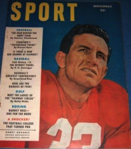 SPORT Magazine Harry Agganis