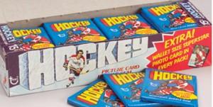 Topps hockey pack 1976-77