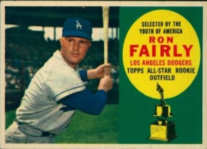 1960 Topps Ron Fairly