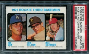 PSA 10 Mike Schmidt rookie card