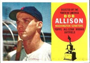 1960 Topps Bob Allison