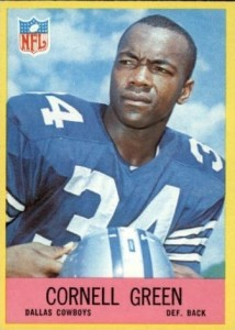 Cornell Green football card 1967