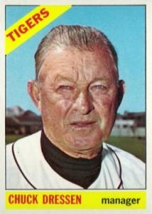1966 Topps Chuck Dressen