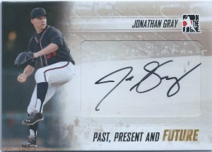 Jonathan Gray autograph 2014 Past Present Future