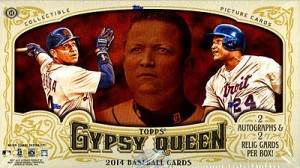 2014 Topps Gypsy Queen box