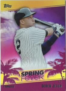 2014 Topps Spring Fever Derek Jeter