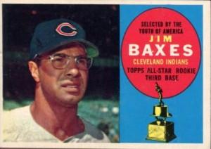 1960 Topps Jim Baxes
