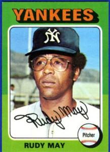 1975 Topps Rudy May